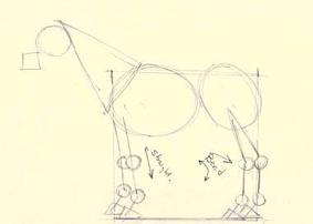 dibujo caballo - paso 2